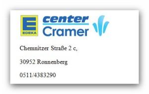 Edeka-Cramer-Empelde