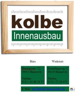 Kolbe-Innenausbau-Tischlerei