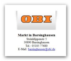 OBI - Markt - Barsinghausen