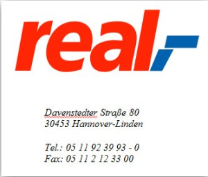 real,- Hannover-Linden